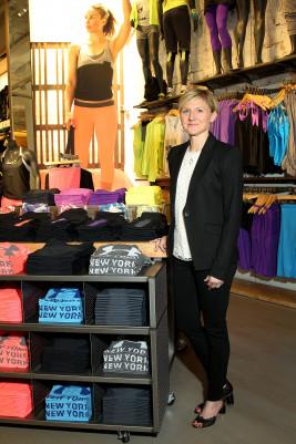 Susie McCabe, Senior Vice President, Global Retail, Under Armour