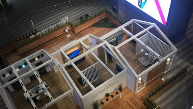 best buy opens connected home display in mall of america. Black Bedroom Furniture Sets. Home Design Ideas