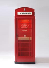 Lands' End santa for a day