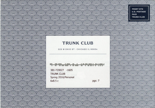 trunk club envelope