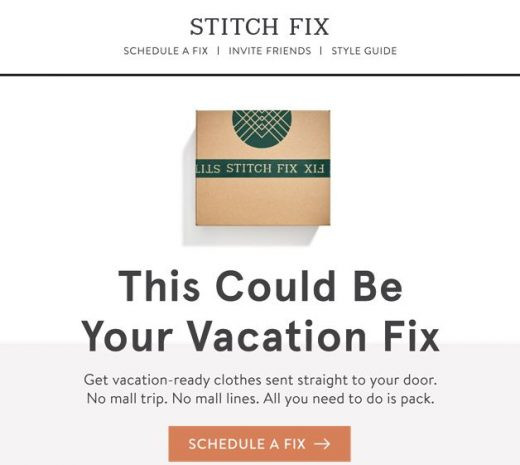 Stitch Fix email