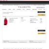 Talbots Checkout Page