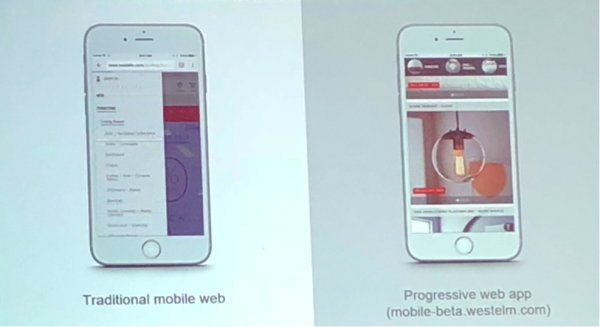 an example of a progressive web application