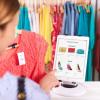 thredUP shopper scanning item