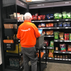 Amazon employee in Amazon Go store