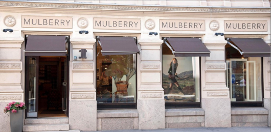Mulberry flagship store, London