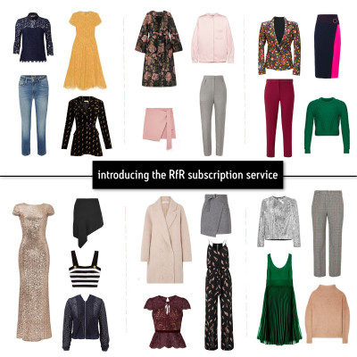 Rent frock Repeat's new subscription service offerings. Image courtesy of Rent frock Repeat.