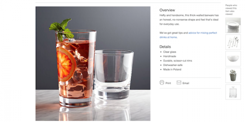 Strong product photography