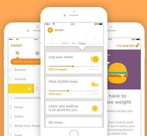 Noom - gamified weight loss