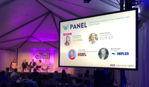 Panel discussion at eTail West 2020