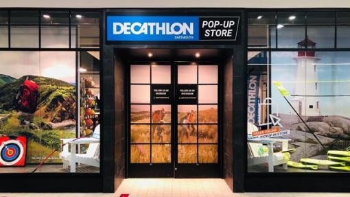 Dartmouth Décathlon storefront. Image courtesy of Décathlon.