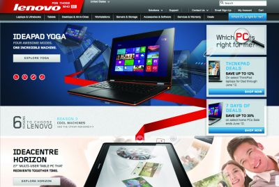 SEO Campaign Boosts Lenovo's Brand Awareness, Revenues