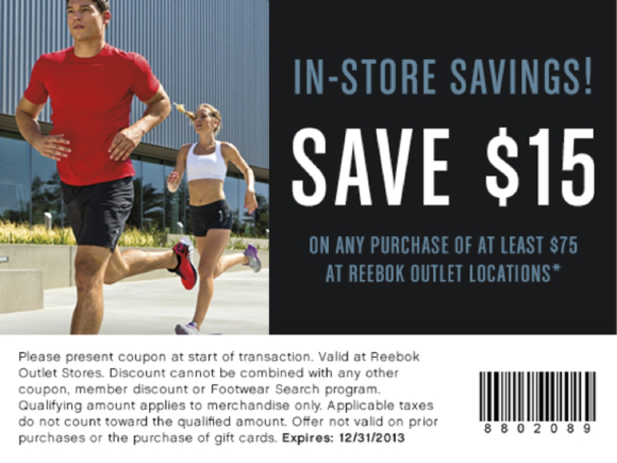 reebok outlet sale